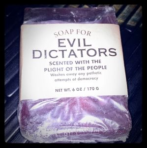 Other - Evil Dictators Bar Soap
